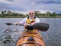 paddling sea kayak - PhotoDune Item for Sale