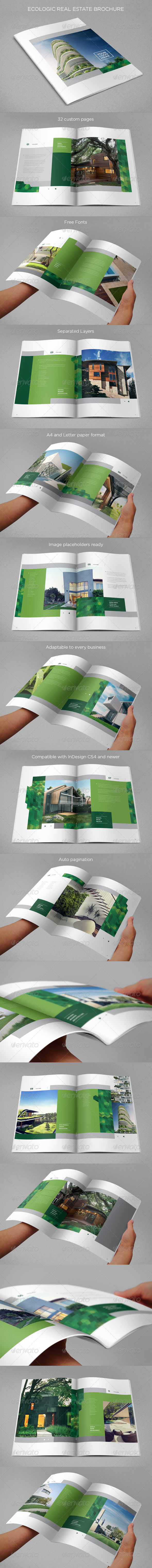 GraphicRiver Ecologic Real Estate Brochure 8645126