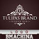 Tulipas Brand Logo Template - GraphicRiver Item for Sale