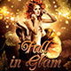 Fall in Glam Flyer Template V2 - GraphicRiver Item for Sale