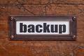 backup - file cabinet label - PhotoDune Item for Sale