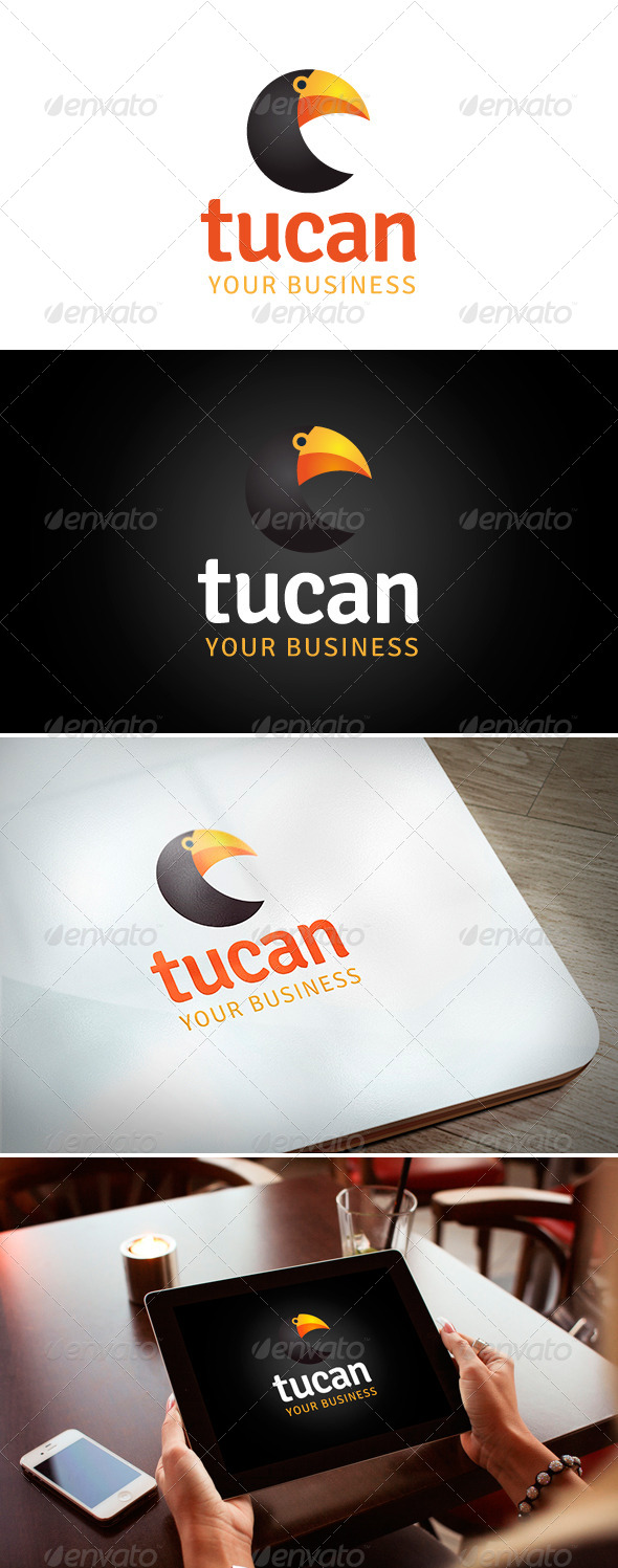 GraphicRiver Logo Template Tucan 8645446