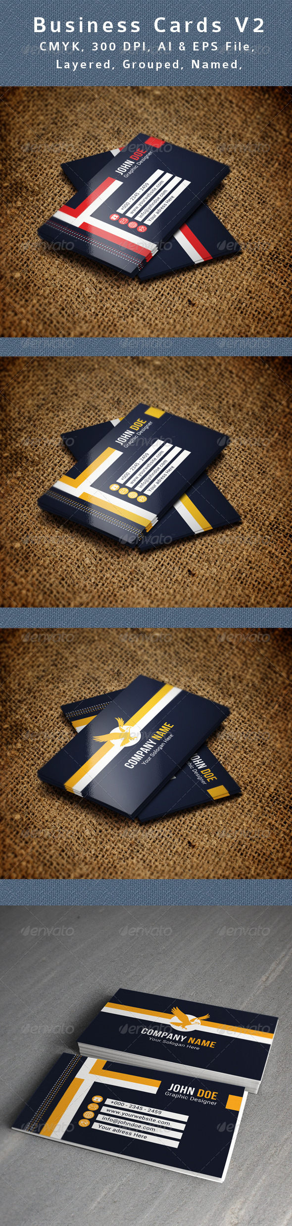 GraphicRiver Creative Business Card V2 8645609