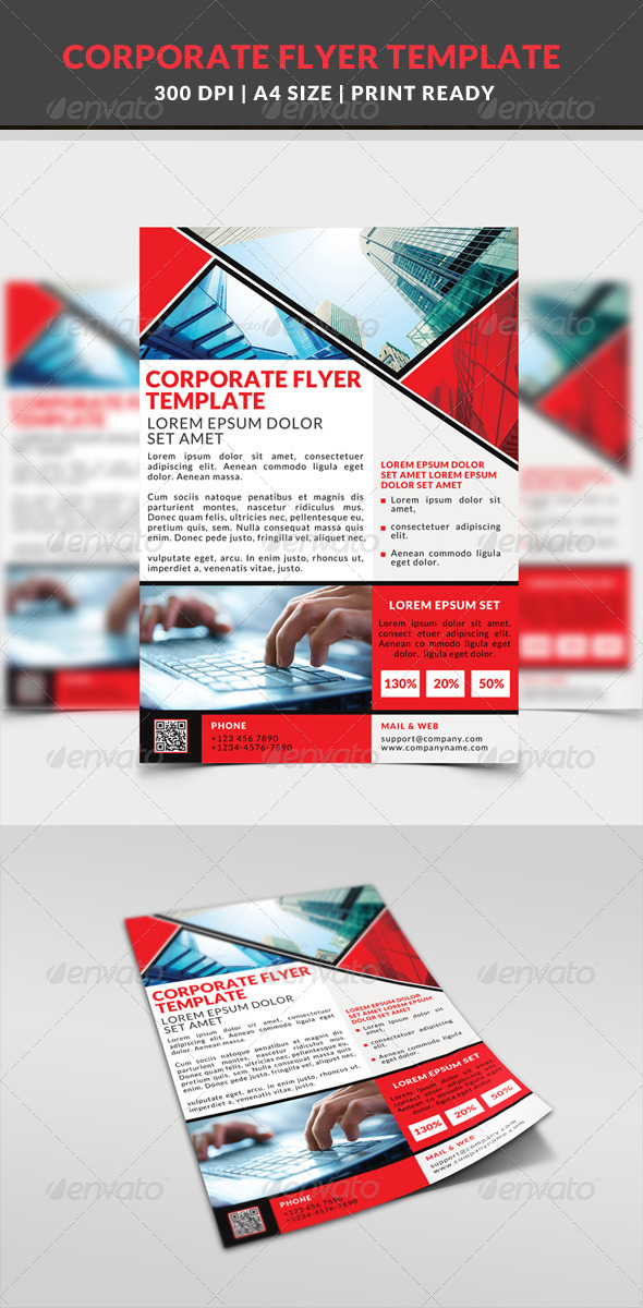 GraphicRiver Corporate Business Multipurpose Flyer Template 10 8645633