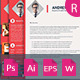 The Resume & Letter Cover & Portfolio V 1.0 - GraphicRiver Item for Sale