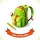 Backpack Education Icon - GraphicRiver Item for Sale