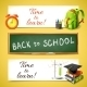 Time to Learn Horizontal Banners - GraphicRiver Item for Sale