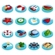 Holiday Vacation Isometric Set - GraphicRiver Item for Sale