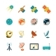 Satellite Icons Set - GraphicRiver Item for Sale