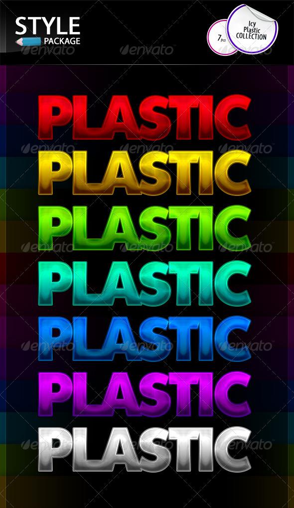 GraphicRiver Icy Plastic Styles 8635806