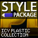 Icy Plastic Styles - GraphicRiver Item for Sale