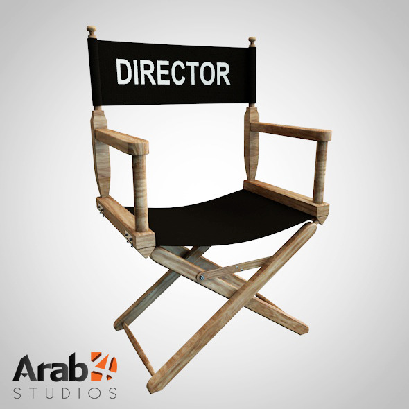 3DOcean Director Chair 8645927