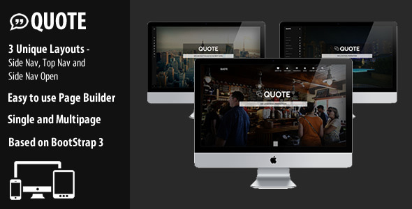 ThemeForest Quote Responsive Multi Purpose Theme 8645997