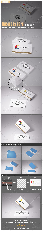 GraphicRiver Business Card Mockup 8646008