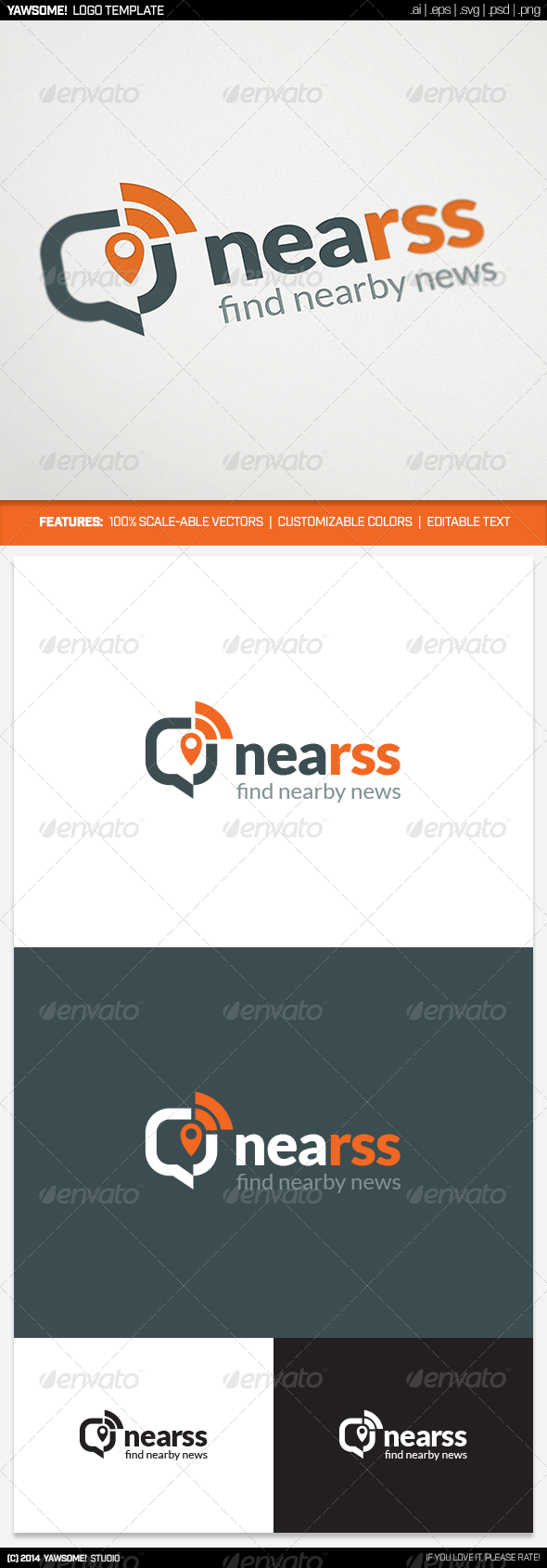 GraphicRiver NeaRSS Logo 8646154