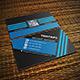 Tristripe Modern Business Card Template 02 - GraphicRiver Item for Sale