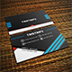 Tristipe Modern Business Card Template 03 - GraphicRiver Item for Sale