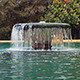 Fountain And Trees - VideoHive Item for Sale