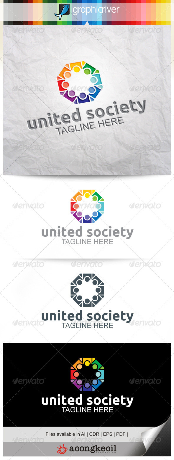 GraphicRiver United Society V.3 8646217