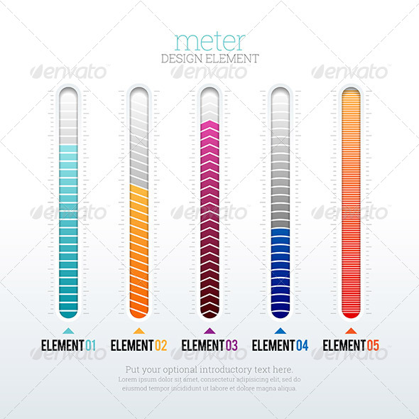 GraphicRiver Meter Design Element 8646301