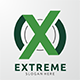 Extreme Logo - Letter X - GraphicRiver Item for Sale