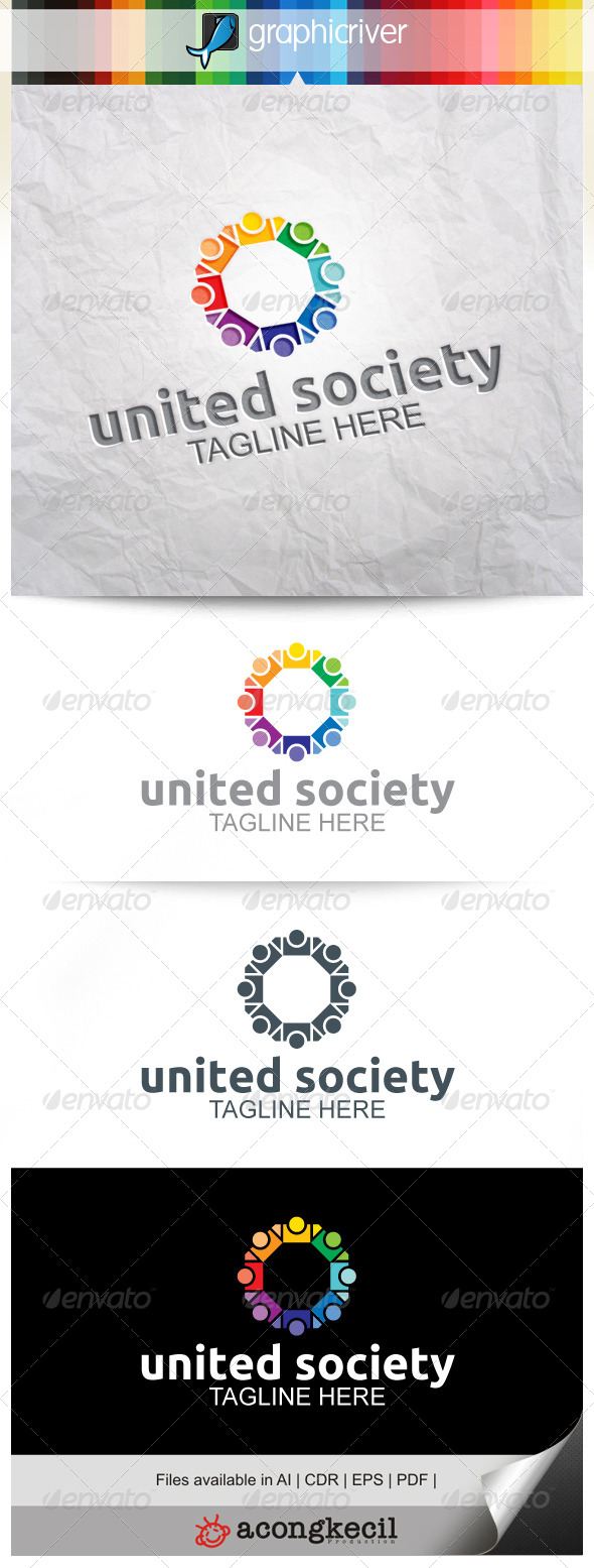 GraphicRiver United Society V.4 8646323