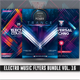 Electro Music Flyer Bundle Vol.16 - GraphicRiver Item for Sale