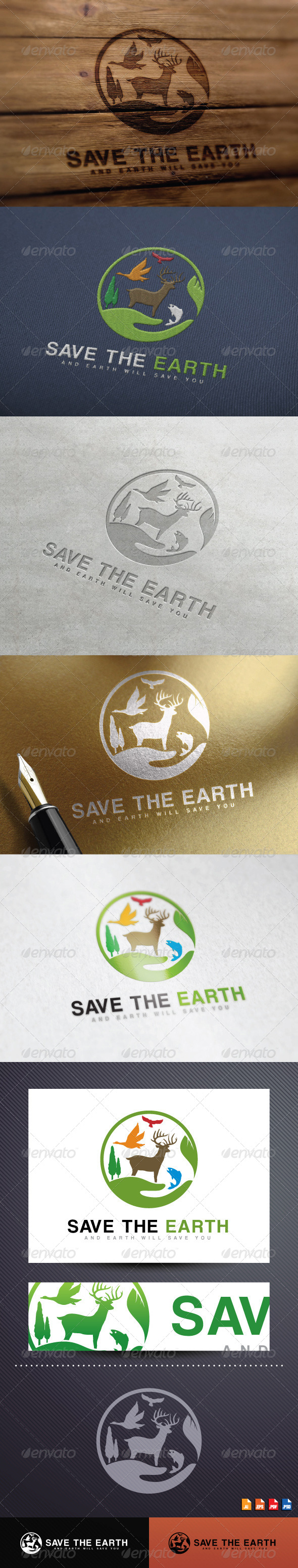 GraphicRiver Save The Earth 8646452