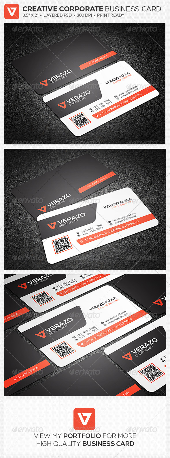 GraphicRiver Creative Corporate Business Card 56 8646594