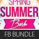 Summer Party FB Cover Bundle - GraphicRiver Item for Sale