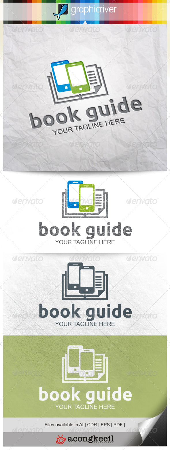 GraphicRiver Bookguide Mobile 8646652