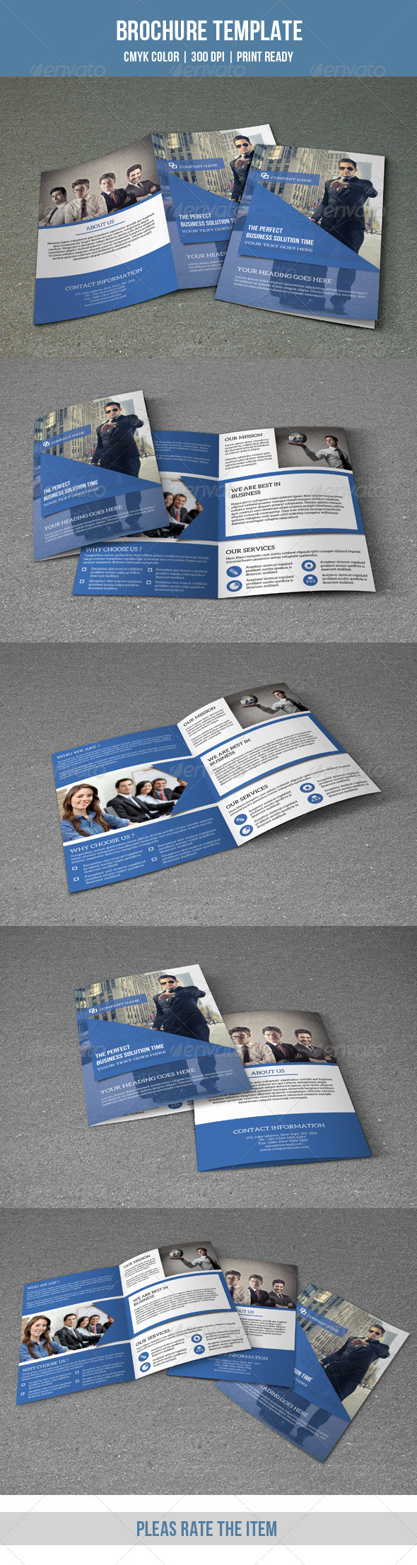 GraphicRiver Bifold Business Brochure-V116 8646664
