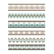 Colored Seamless Vector Borders - GraphicRiver Item for Sale