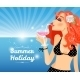 Summer Holiday Poster - GraphicRiver Item for Sale