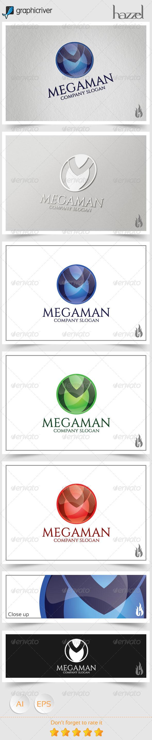 GraphicRiver Megaman Logo 8646688