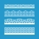 Seamless Vector Decorative Vintage Borders - GraphicRiver Item for Sale