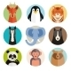 Animal Icons in Round Buttons - GraphicRiver Item for Sale