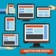 Responsive and Adaptive Design - GraphicRiver Item for Sale