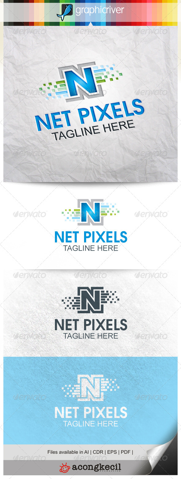 GraphicRiver Network Pixels 8646807