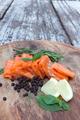 smoked salmon on wood - PhotoDune Item for Sale