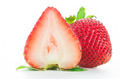 strawberries isolated on white - PhotoDune Item for Sale