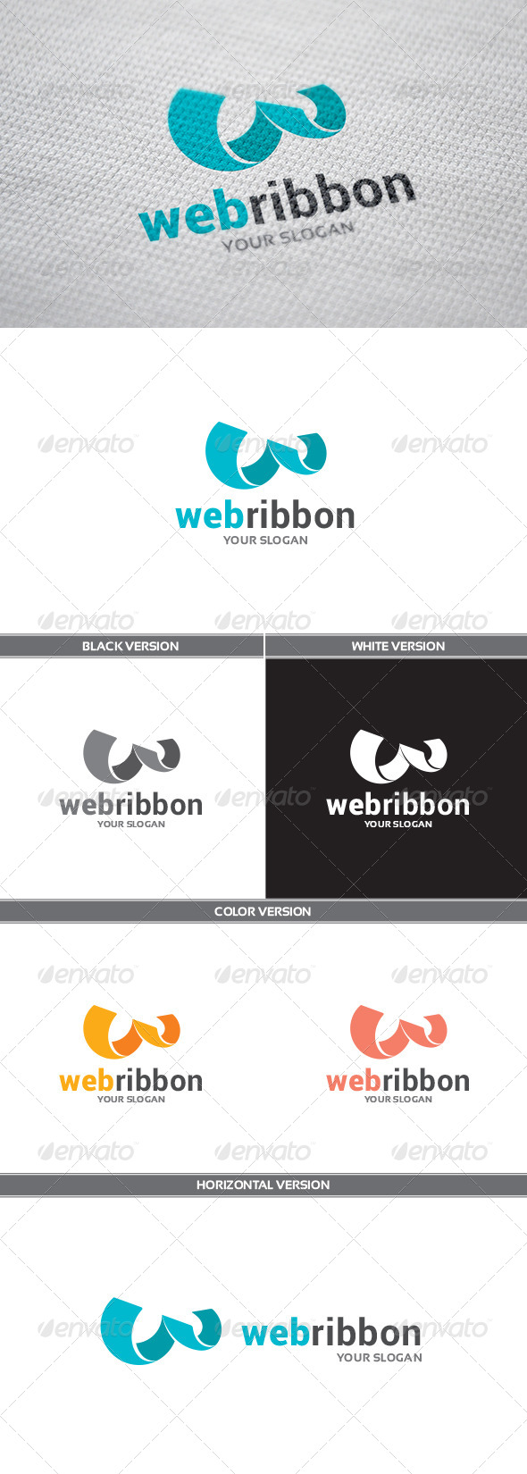 GraphicRiver WebRibbon Logo 8646817