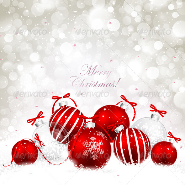 GraphicRiver Christmas Background 8646826