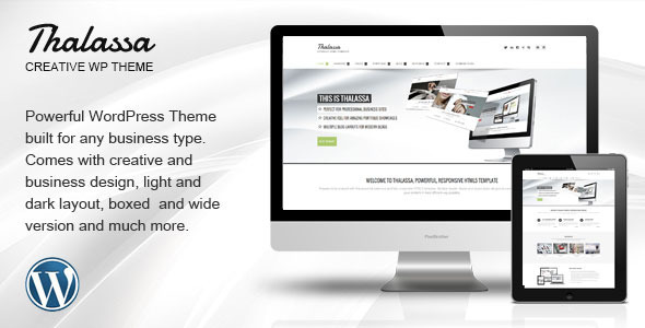 ThemeForest Thalassa Multipurpose Responsive Wordpress Theme 8647216