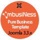 MbusiNess - Responsive Joomla Business Template - ThemeForest Item for Sale