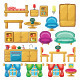 Set of Furniture - GraphicRiver Item for Sale