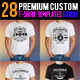 Premium T-Shirt Templates Bundle - GraphicRiver Item for Sale