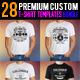 Premium T-Shirt Templates Bundle - GraphicRiver Item for Sale