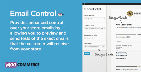 Email Control for WooCommerce - CodeCanyon Item for Sale