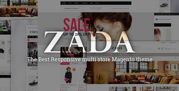 ThemeForest ZADA Ultimate Responsive Magento Theme 8654491